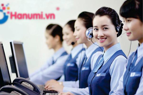 Chăm sóc khách hàng và tư vấn bán hàng tại hanumi.vn