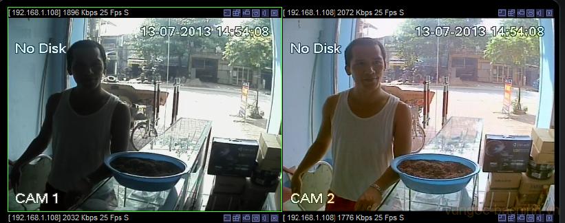 So sánh chất lượng hình ảnh camera hãng và camera nhái