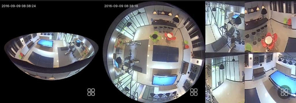 Camera VR 3D Panoramic Full HD