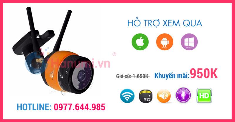 Camera Yoosee lắp ngoài trời giá rẻ tại hanumi.vn