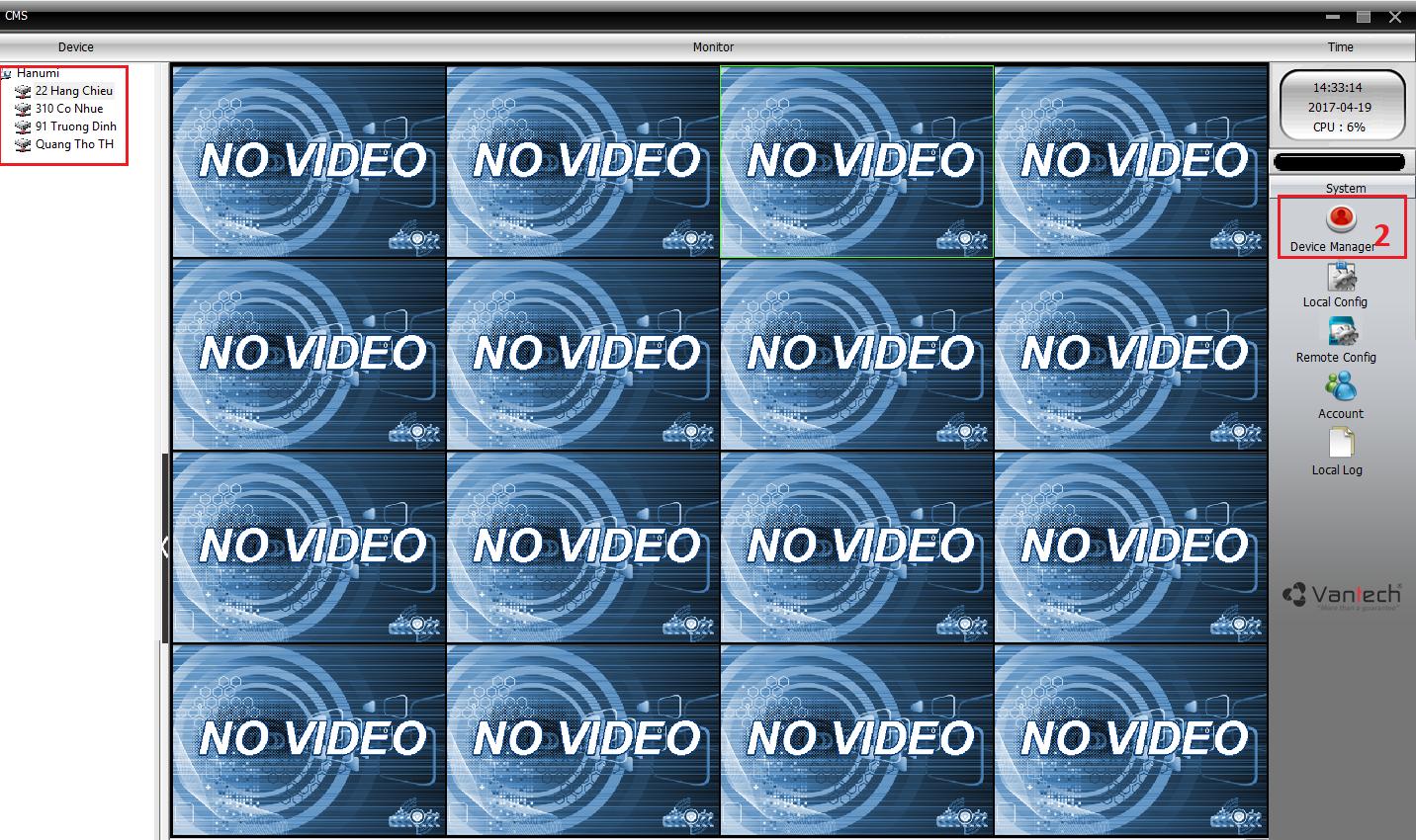 Hướng dẫn sử dụng phần mềm CMS Camera trên máy tính