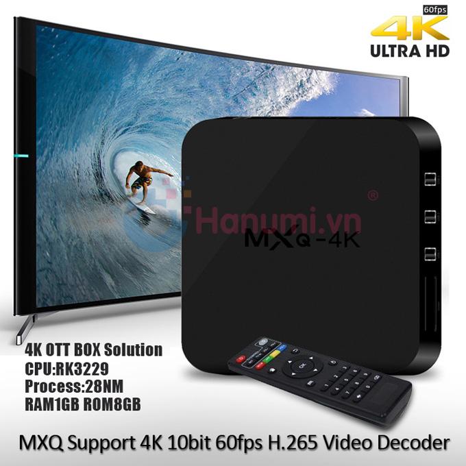 Android TV Box MXQ 4K giá rẻ