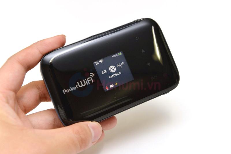 Bộ phát wifi 3G/4G Emobile GL09P pin 5200mAh